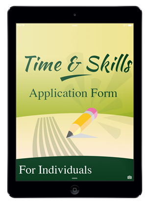Time & Skills Application Form